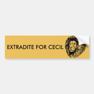 Autocollant De Voiture Extradez pour Cecil