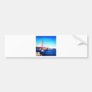 Autocollant De Voiture Fait en San Fransisco