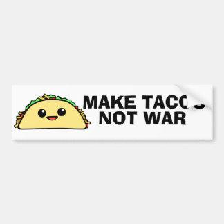 Autocollant De Voiture Faites les tacos