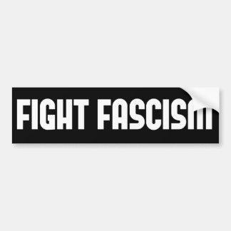 Autocollant De Voiture Fascisme de combat