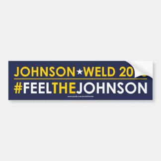 Autocollant De Voiture #FEELTHEJOHNSON libertaire d'adhésif pour