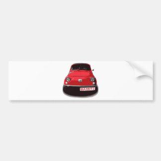 Autocollant De Voiture Fiat 500 Biarritz