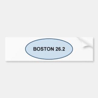 Autocollant De Voiture fierté de Boston 26,2 produits