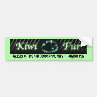 Autocollant De Voiture Fourrure de kiwi