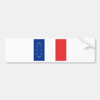Autocollant De Voiture France Europe