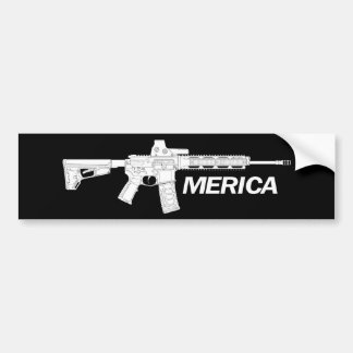 Autocollant De Voiture Fusils américains