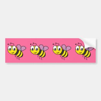 Autocollant De Voiture Gaffez l'abeille, bourdonnement