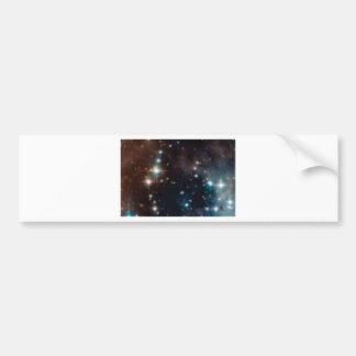 Autocollant De Voiture galaxie de manière laiteuse