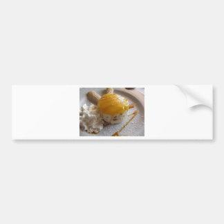 Autocollant De Voiture Gâteau couvert par confiture de crème glacée