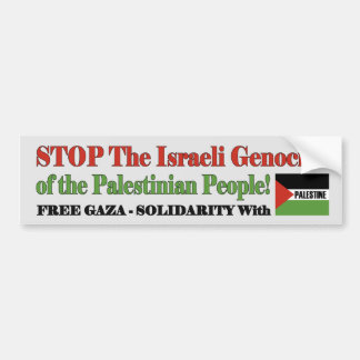 Autocollant De Voiture Gaza et la Palestine libres