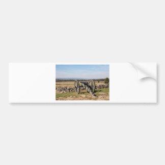 Autocollant De Voiture Gettysburg : Une vue de la charge de Pickett