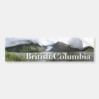 Autocollant De Voiture Glaciers de Colombie-Britannique