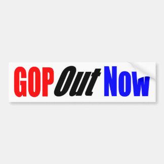 Autocollant De Voiture GOP maintenant