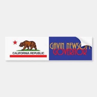 Autocollant De Voiture Gouverneur 2018 de Gavin NEWSOM