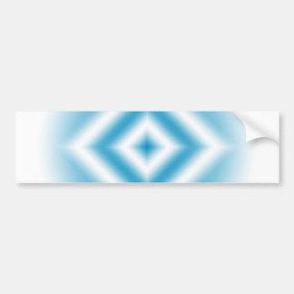 Autocollant De Voiture gradient bleu de diamant de Personnaliser-ciel