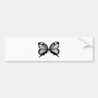 Autocollant De Voiture Grand chasseur rose de papillon rose