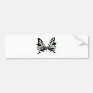 Autocollant De Voiture Grand papillon sage de vulpin