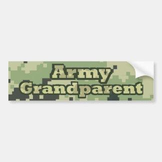 Autocollant De Voiture Grand-parent d'armée