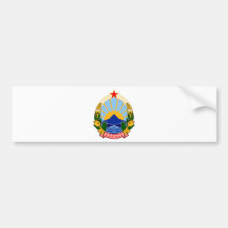 Autocollant De Voiture Grb de Makedonija de SR