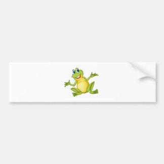 Autocollant De Voiture grenouille drôle