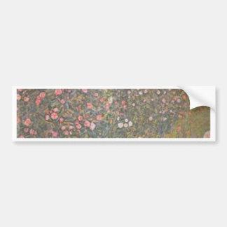 Autocollant De Voiture Gustav Klimt - paysage horticole italien