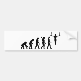 Autocollant De Voiture Gymnastique d'évolution