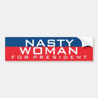 Autocollant De Voiture Hillary Clinton pour la femme méchante du