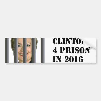Autocollant De Voiture Hillary Clinton pour l'adhésif pour pare-chocs