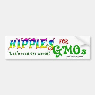 Autocollant De Voiture Hippies pour l'adhésif pour pare-chocs d'OGM