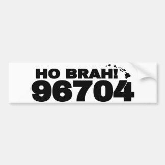 Autocollant De Voiture Ho Brah ! 96704