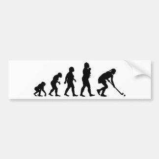 Autocollant De Voiture Hockey de champ