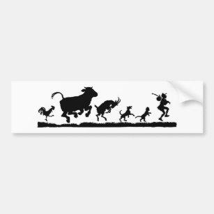 autocollants stickers pour voiture vache. Black Bedroom Furniture Sets. Home Design Ideas