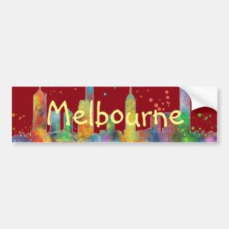 AUTOCOLLANT DE VOITURE HORIZON DE MELBOURNE, VICTORIA AUSTRALIE