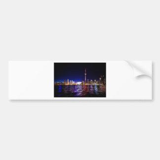 Autocollant De Voiture Horizon de nuit de Toronto