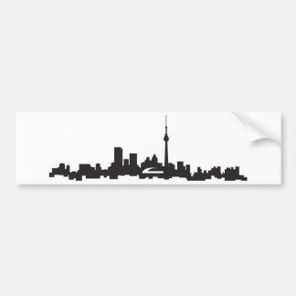 Autocollant De Voiture Horizon de Toronto