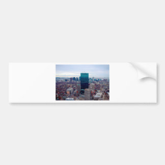 Autocollant De Voiture Horizon de ville de Boston