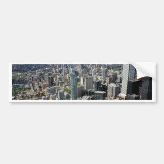 Autocollant De Voiture Horizon de ville de Toronto