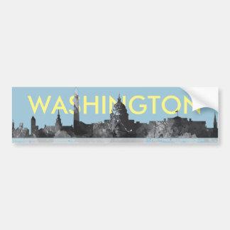 AUTOCOLLANT DE VOITURE HORIZON DE WASHINGTON DC
