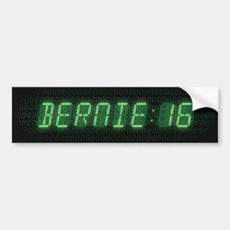 Autocollant De Voiture Horloge des ponceuses 2016 de Bernie