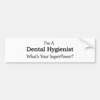 Autocollant De Voiture Hygiéniste dentaire