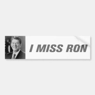 Autocollant De Voiture I adhésif pour pare-chocs de Mlle Ron