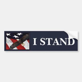 Autocollant De Voiture I Stand/USA