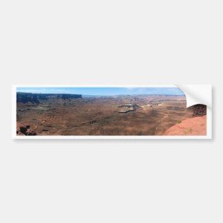 Autocollant De Voiture Île en parc national Utah de Canyonlands de ciel