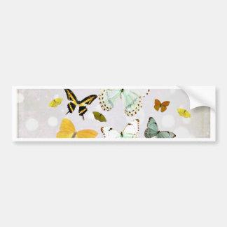 Autocollant De Voiture Illustration des papillons