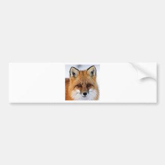 Autocollant De Voiture image de fantaisie de renard