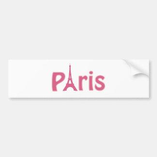 Autocollant De Voiture Image de Tour Eiffel