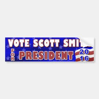 Autocollant De Voiture Indépendant 2016 de président élection de Scott