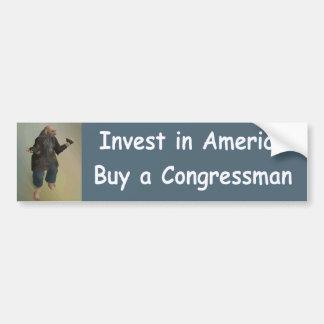 Autocollant De Voiture investissez en Amérique