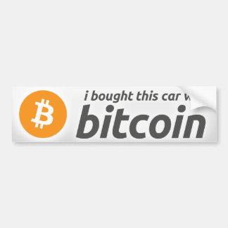Autocollant De Voiture J'ai acheté cette voiture avec l'adhésif pour