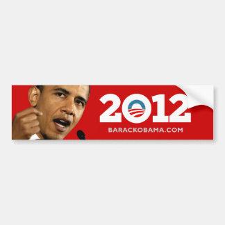 Autocollant De Voiture J'aime Obama Biden 2012